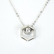 魔幻珠 菱形镶珠项链