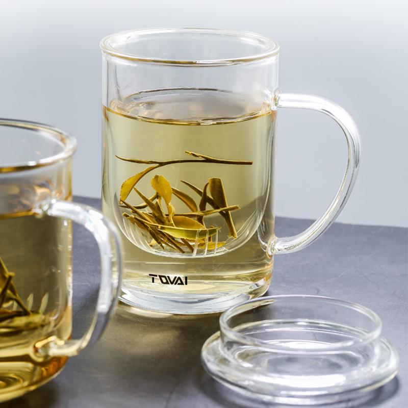 花茶杯三件套