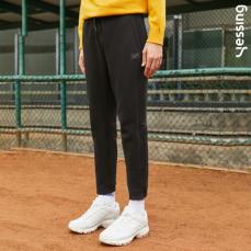 Yessing男式立体分割小脚针织裤