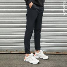 Yessing男式基础塑形梭织长裤