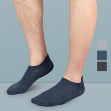 男式日系抑菌船袜