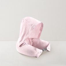 3色可选 泰国制造 天然乳胶连帽U形枕