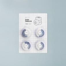 蓝泡泡马桶清洁剂 50g*4