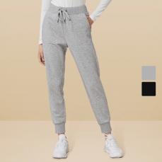 女式基础弹力运动长裤