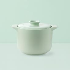 欧式双盖微压焖煮陶瓷煲