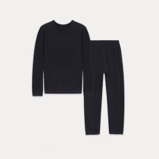 儿童咖啡碳+5℃保暖套装(上衣+裤子)