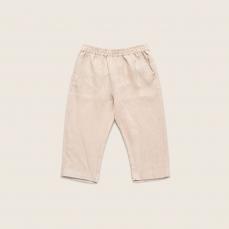 儿童亚麻长裤 4-16岁