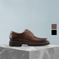 男式轻质经典牛皮商务鞋