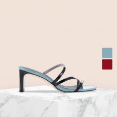 女式极简线条凉拖鞋