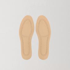 吸汗-可剪裁真皮鞋垫