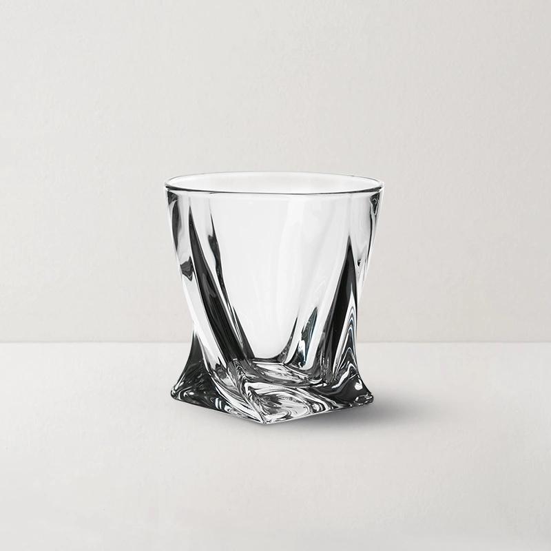 捷克制造 水晶玻璃威士忌酒杯