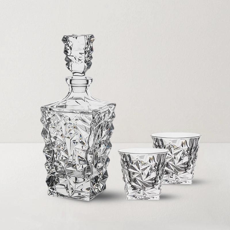 捷克制造 冰川系列水晶烈酒具