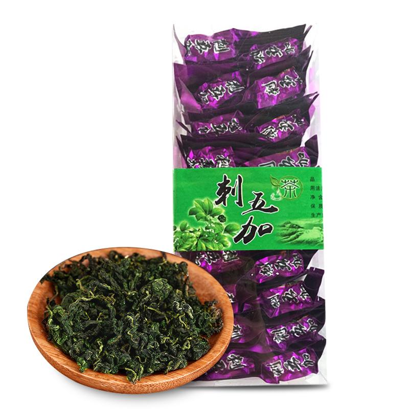东北特产|东北野生刺五加茶158g/盒  长白山刺五加叶    刺五加茶