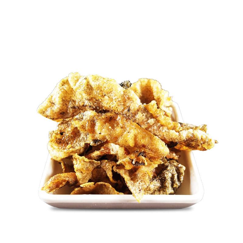 吉林特产 力拓韩式烧烤老炸鱼皮200g/包    韩式烧烤老炸鱼皮  海鲜办公室休闲零食小吃