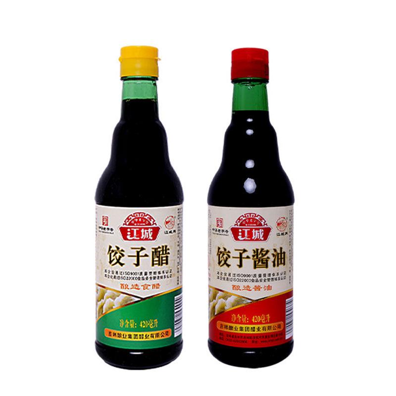 吉林江城牌|饺子酱油   420ml