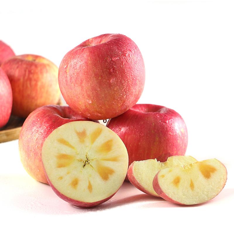 新疆阿克苏冰糖心苹果 充足糖心 清脆可口 家庭营养必备6斤9斤装