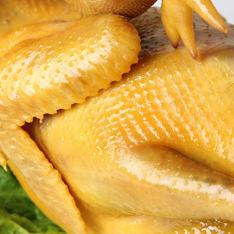 正宗客家熟食盐焗鸡  整只手撕 肉质爽脆可口680g一只