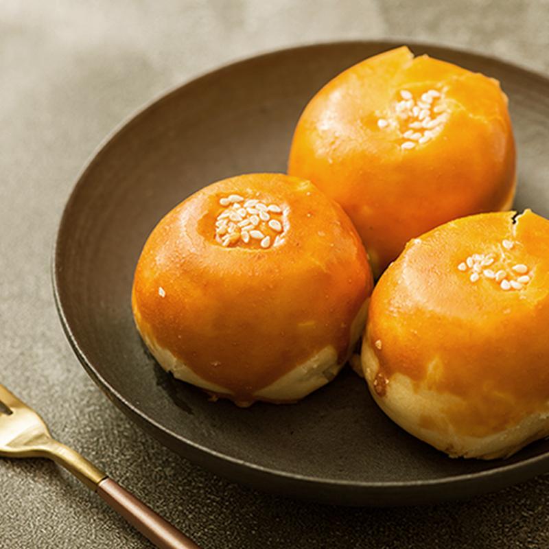 花见拾乐 | 月光宝盒系列 蛋黄酥皮月饼  咸甜适中 送礼佳品440g