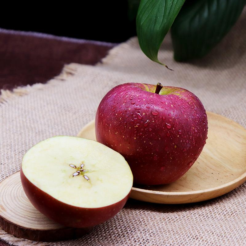 四川大凉山丑苹果 皮薄肉脆 香甜多汁 现摘现发3斤5斤顺丰包邮